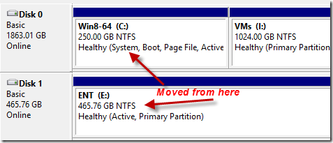 moved partition