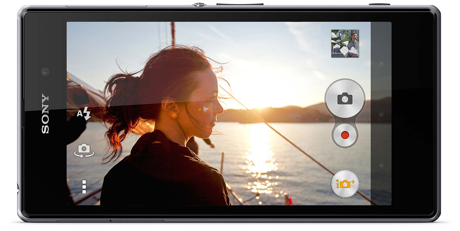 Xperia Z1 brings you optimised imagery with HDR for photos and videos.
