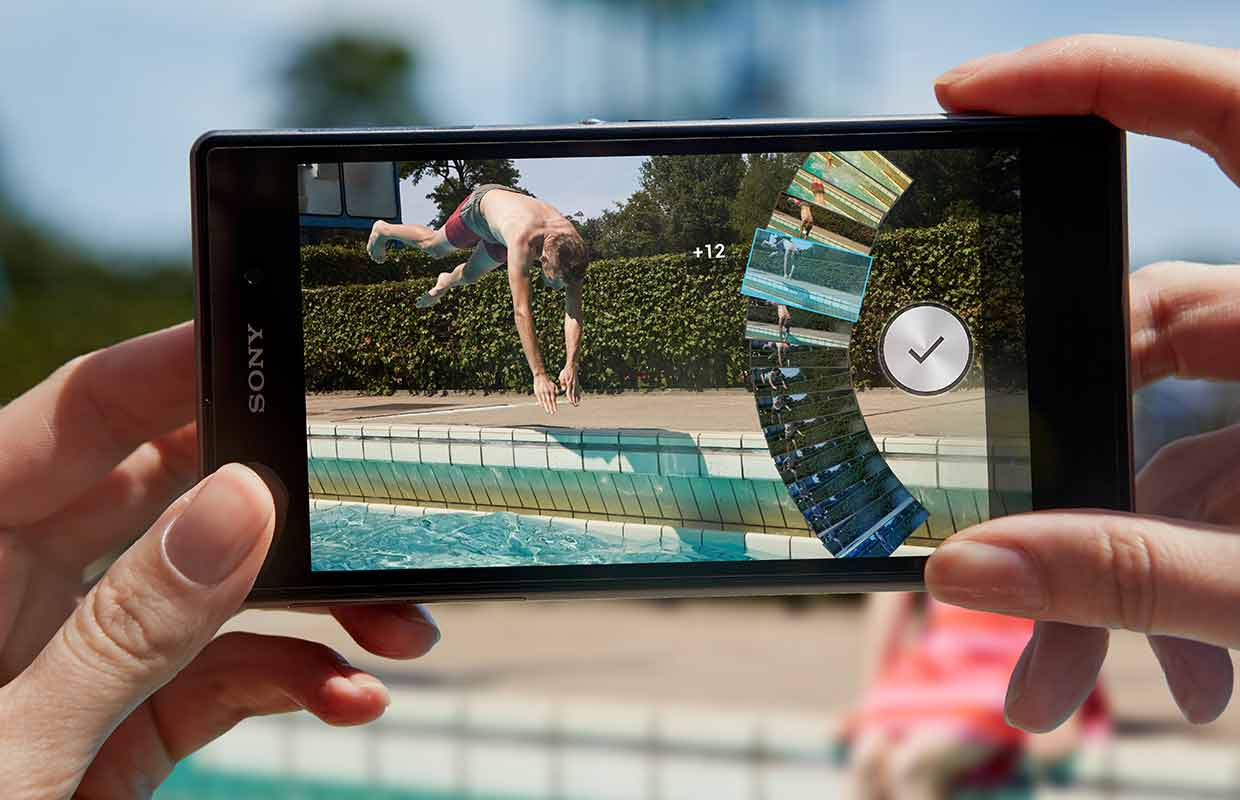 61 pictures taken over 2 seconds means that Xperia Z1 with Timeshift burst will always deliver amazing picture.