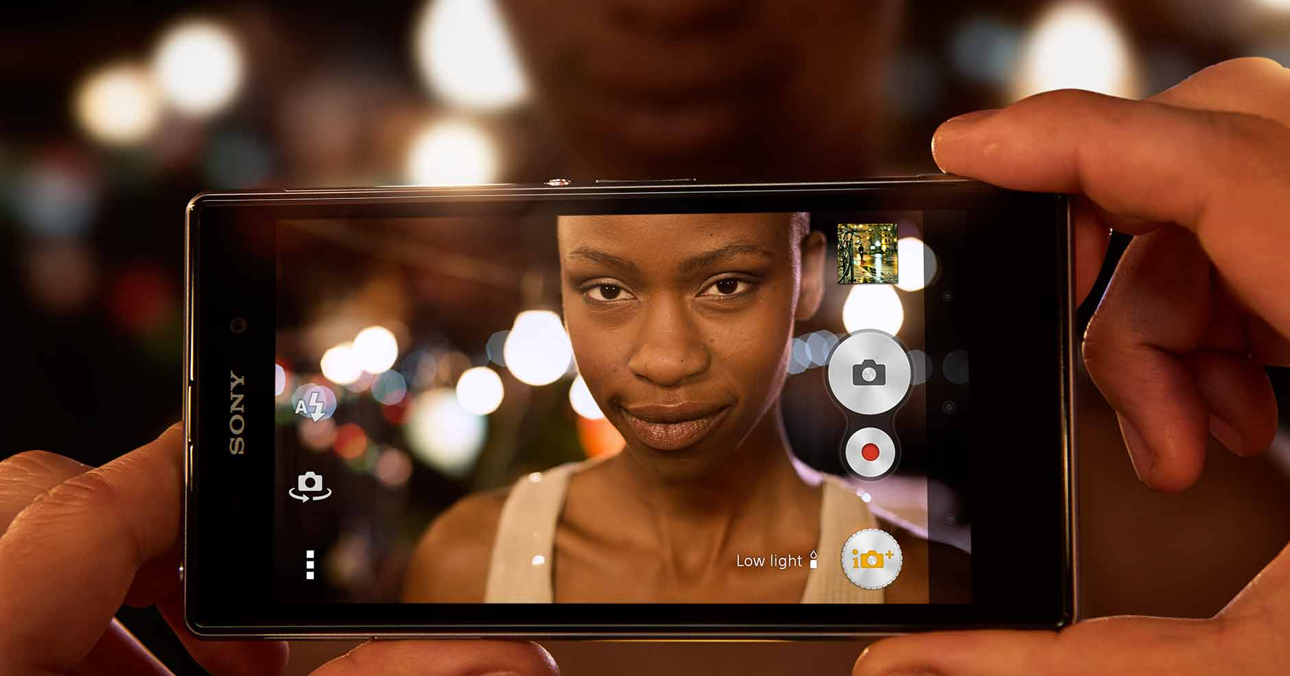 Highly detailed shots in any light with Sony's best camera phone, the Xperia Z1.
