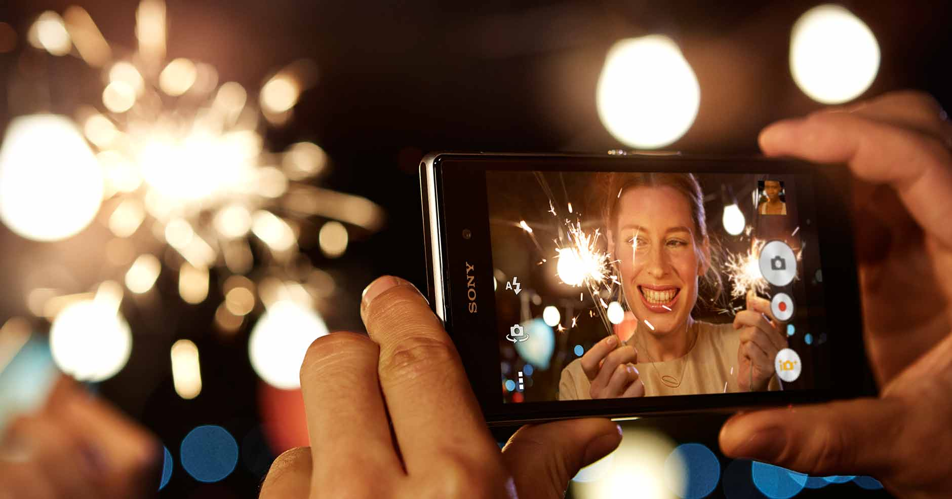 Capture the best blur-free images with the Xperia Z1 camera phone.