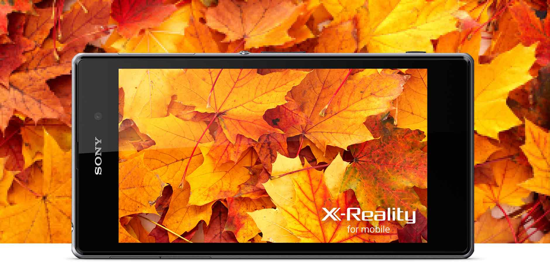 The best camera phone has Sony's latest picture engine: X-Reality for mobile.
