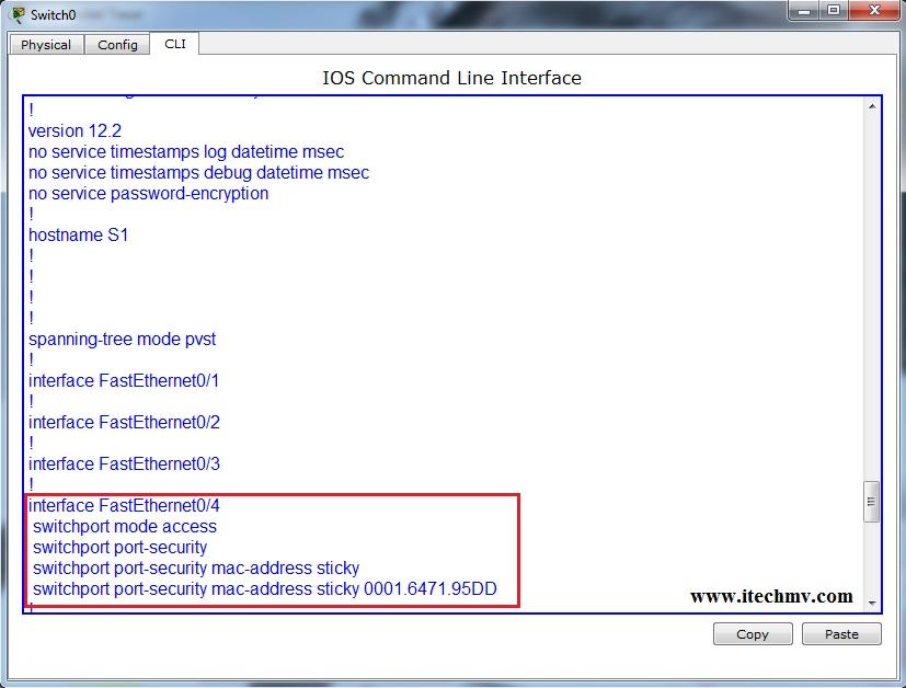 cisco switch mac address sticky